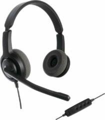 Zwarte Axtel Headsets Axtel Voice UC28 duo NC USB koptelefoon voor PC/Laptop | Office Headset, Thuiswerk en Muziek | Skype for Business