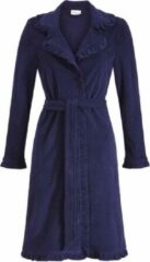 Ringella lingerie badjas - donker blauw - 9264726 - badstof - 38