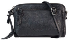 Zwarte Burkely Schoudertas damestas ANTIQUE AVERY | MINI BAG zwart