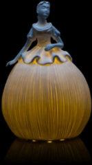 Lumesso Beleuchtete Keramikdame