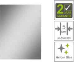 Boss & Wessing BWS Basis Spiegel Rechthoek 50x40 cm 5mm Aluminium
