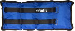Blauwe Enkelgewichten en polsgewichten - VirtuFit Verstelbare Gewichten - 2 x 1 kg - Nylon