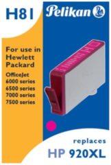 Pelikan Vertriebsgesellschaft mbH & Co. KG Pelikan 13 ml - Magenta - Tintenpatrone (Alternative zu: HP 920XL) 4108951