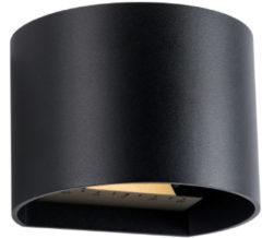 Garden Lights Wandlamp Goura 11,5 Cm Aluminium 3w 12v Zwart