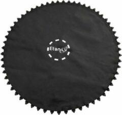 Zwarte Etan Premium Trampoline Springmat - Ø 366 cm / 12 ft - 80 ogen