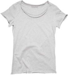 T-Shirt mit offenen Kanten bread boxers Grey Melange