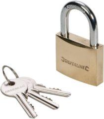 Hangslot met sleutel - Silverline