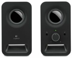 Logitech Z150 2.0 PC-luidsprekers Kabelgebonden 3 W Zwart