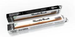 Zwarte Humble Brush Tandenborstel - bamboe - charcoal