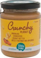 Terrasana Pindakaas Crunchy Zonder Zout Bio (250g)