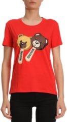 Rosso T-shirt Donna Boutique Moschino