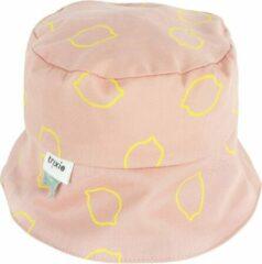 Gele Trixie Zonnehoed Meisjes 46 Cm Katoen Roze Mt 6-12 Maanden