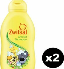 ZWITSAL Woezel & Pip Anti-klit Shampoo Baby - 200mlx2