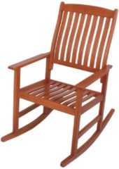 Garden Pleasure Schaukelstuhl Florida Eukalyptus Holz Garten Stuhl Sessel Möbel