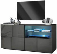 Pesaro Mobilia Tv-meubel Dama 121 cm breed - Hoogglans grijs
