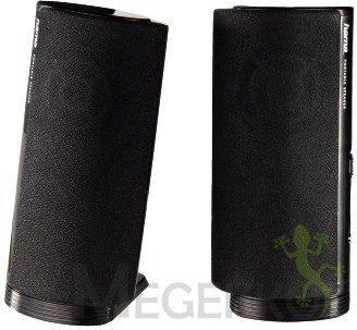 Afbeelding van Hama E 80 2.0 PC-luidsprekers Kabelgebonden 2.5 W Zwart