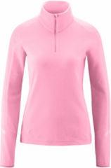 Roze Maier Sports Grote Maten Rose Goldie dames ski pulli met rits