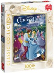 Jumbo Puzzel Disney Classic Collection Cinderella - Legpuzzel - 1000 stukjes