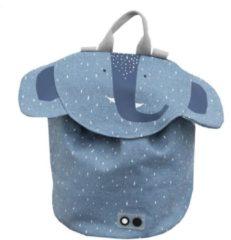 Blauwe Trixi Baby Rugzak Mini - Mrs. Elephant | Trixie Baby