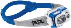 Blauwe Petzl Swift RL hoofdlamp 900 lumen Blue NS