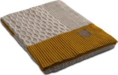 Knit Factory Joep Plaid - Beige Mêlee