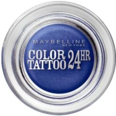 Blauwe Maybelline Color Tattoo Oogschaduw - 25 Everlasting Navy