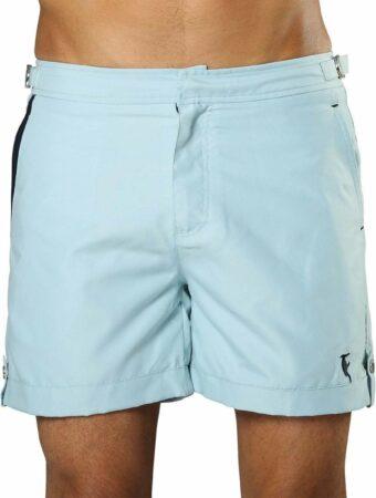 Afbeelding van Lichtblauwe Sanwin Beachwear Korte Broek en Zwembroek Heren Sanwin - Licht Blauw Tampa - Maat 38 - XL