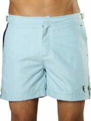 Lichtblauwe Sanwin Beachwear Korte Broek en Zwembroek Heren Sanwin - Licht Blauw Tampa - Maat 38 - XL