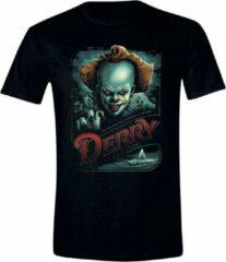 Zwarte Merkloos / Sans marque Heren T-shirt Maat L