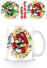 Pyramid International Super Mario Mug - Happy Holidays