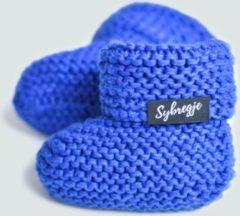 Blauwe Sybregje Babyslofjes - Arne