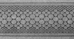 Ikado Grijs vloerkleed-Keukenloper Bolero 67x120cm