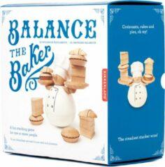 Witte Kikkerland evenwichtsspel The Baker 9 x 12 cm hout 13-delig