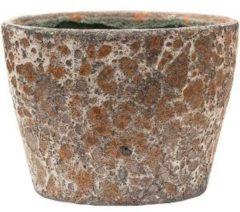 Baq Design Lava Relic Rust metal bloempot binnen 19x19x13 cm