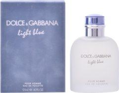 Dolce & Gabbana MULTI BUNDEL 3 stuks Dolce and Gabbana Light Blue Homme Eau De Toilette Spray 125ml