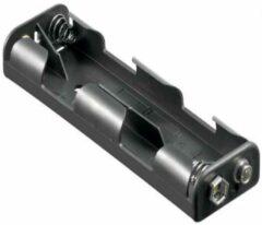 Goobay 11985 Batterijhouder 4 AA (penlite) Drukknopaansluiting (l x b x h) 109 x 32 x 16.2 mm