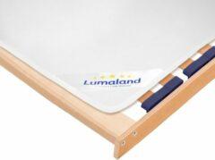 Witte Lumaland - Vilten oplegger voor lattenbodem - matrasbeschermer - 160 x 200 cm