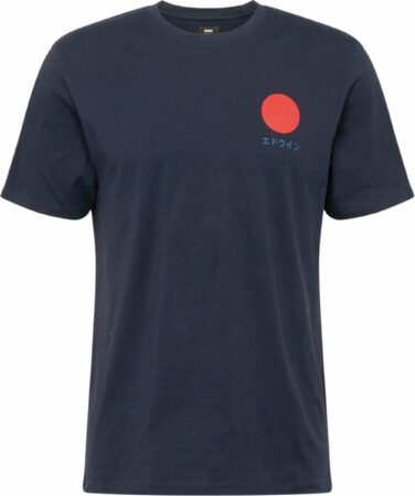 Afbeelding van Edwin shirt japanese sun Blauw-L