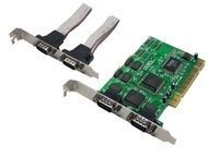 LogiLink PCI to Serial 4-port Controller Card - Parallel-Adapter - PCI PC0017