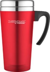 Thermos Soft Touch Travel Beker - 420 ml - Rood