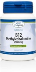 Vitakruid B12 Methylcobalamine 5000 mcg Voedingssuplement - 60 smelttabletten