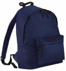Marineblauwe Bagbase Junior rugzak navy blauw 14 liter Rugzak voor kinderen