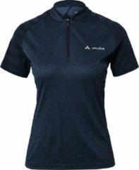 Vaude - Women's Tamaro Shirt III - Fietsshirt maat 36, zwart/blauw