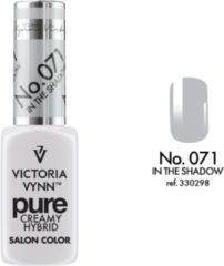 Licht-grijze Gellak Victoria Vynn™ Gel Nagellak - Gel Polish - Pure Creamy Hybrid - 8 ml - In the Shadow - 071