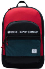 Herschel Supply Co. Kaine Rugzak black/red/bachelor button backpack