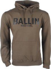 Ballin - Heren Trui - Capuchon - Sweat - Kaki