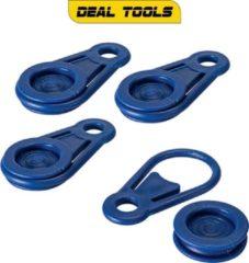 Blauwe Deal Tools Dekzeil Clips | 4 Delig