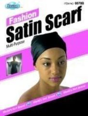 Zwarte Dream World Dream Fashion Satin Scarf
