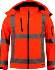 TRICORP SAFETY Tricorp Soft shell jack RWS - Workwear - 403003 - Fluor Oranje - maat L