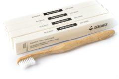 Oceonics Bamboe tandenborstel 4-Pack | Zero Waste